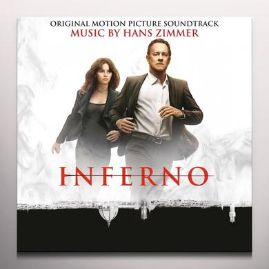 Hans Zimmer INFERNO / O.S.T. Vinyl Record - Gatefold Sleeve, Limited Edition, 180 Gram Pressing, Red Vinyl