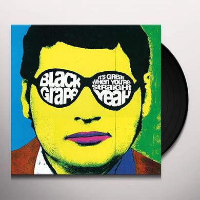 Black Grape IT'S GREAT WHEN YOU'RE STRAIGHT: YEAH Vinyl Record