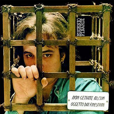 Eugenio Finardi NON GETTATE ALCUN OGGETTO Vinyl Record