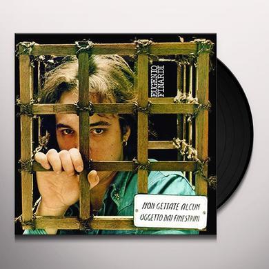 Eugenio Finardi NON GETTATE ALCUN OGGETTO Vinyl Record - Italy Import