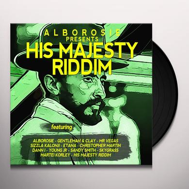 ALBOROSIE PRESENTS HIS MAJESTY RIDDIM Vinyl Record