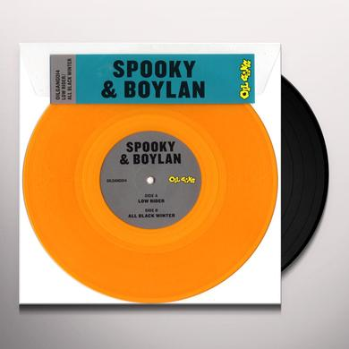 SPOOKY & BOYLAN LOW RIDER / ALL BLACK WINTER Vinyl Record