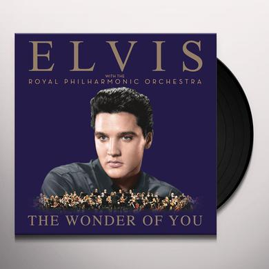 WONDER OF YOU: ELVIS PRESLEY WITH ROYAL PHILHARMON Vinyl Record