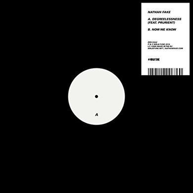 Nathan Fake DEGREELESSNESS / NOW WE KNOW Vinyl Record