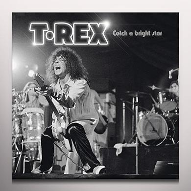 T-Rex CATCH A BRIGHT STAR (LIVE IN CARDIFF) Vinyl Record - Clear Vinyl