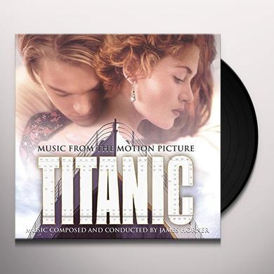 James Horner TITANIC / O.S.T. Vinyl Record - Holland Import