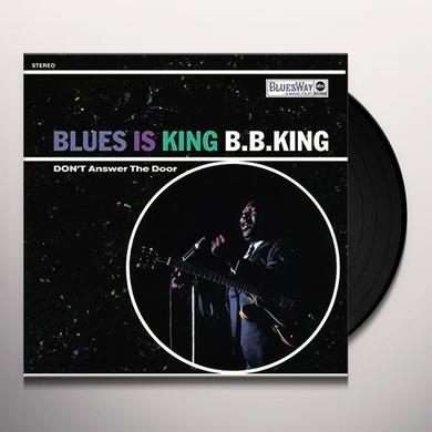 B.B. King BLUES IS KING Vinyl Record - 180 Gram Pressing, Spain Import