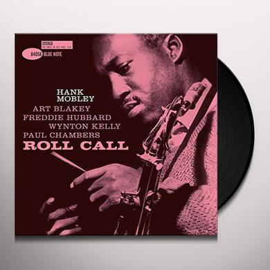 Hank Mobley ROLL CALL Vinyl Record - 180 Gram Pressing, Spain Import