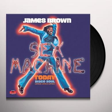James Brown SEX MACHINE TODAY Vinyl Record - 180 Gram Pressing, Spain Import