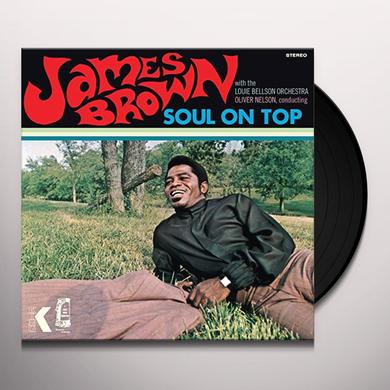 James Brown SOUL ON TOP Vinyl Record - Gatefold Sleeve, 180 Gram Pressing, Spain Import