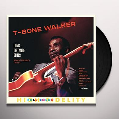 T-Bone Walker LONG DISTANCE BLUES Vinyl Record - 180 Gram Pressing, Spain Import