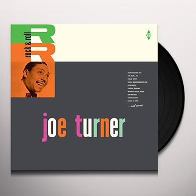 Big Joe Turner ROCK & ROLL + 2 BONUS TRACKS Vinyl Record