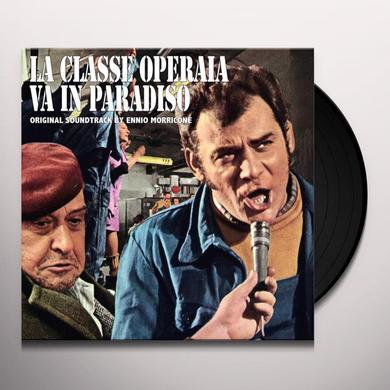 Ennio Morricone LA CLASSE OPERAIA VA IN PARADISO - O.S.T. Vinyl Record
