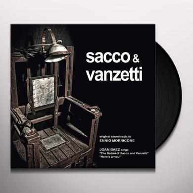 Ennio Morricone SACCO & VANZETTI O.S.T. Vinyl Record