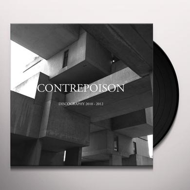 Contrepoison DISCOGRAPHY 2010-2012 Vinyl Record