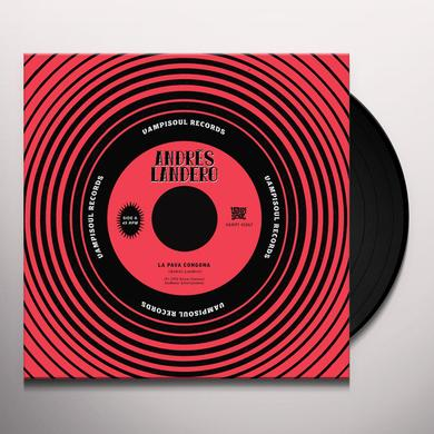 Andres Landero LA PAVA CONGONA / LA PAVA CONGONA - SENOR SABOR Vinyl Record