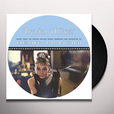 Henry Mancini BREAKFAST AT TIFFANY'S - O.S.T. Vinyl Record - Picture Disc