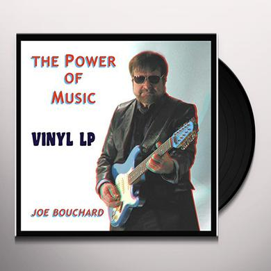 Joe Bouchard POWER OF MUSIC Vinyl Record