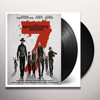 James Horner MAGNIFICENT SEVEN / O.S.T. Vinyl Record - Holland Release