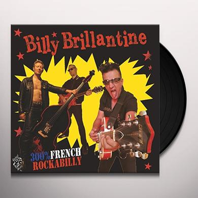 Billy Brillantine 300% FRENCH ROCKBILLY (GER) Vinyl Record