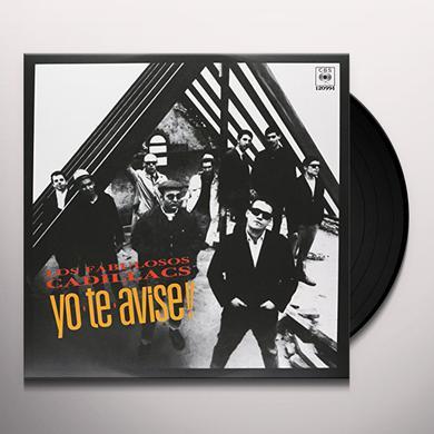 FABULOSOS CADILLACS YO TE AVISE Vinyl Record