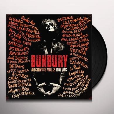 Bunbury ARCHIVOS VOL 2: DUETOS Vinyl Record