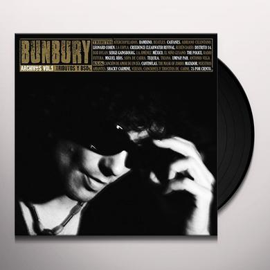 Bunbury ARCHIVOS VOL 1: TRIBUTOS Y BSOS  (BOX) Vinyl Record - w/CD, Spain Import