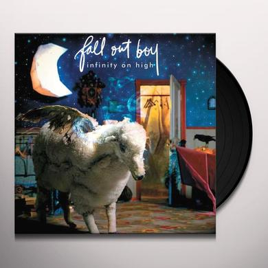 Fall Out Boy INFINITY ON HIGH Vinyl Record