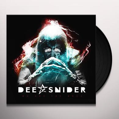Dee Snider WE ARE THE ONES Vinyl Record