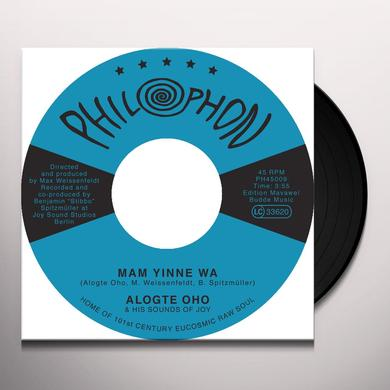 Alogte Oho & His Sounds Of Joy MAM YINNE WA / YU YA YUMMA Vinyl Record