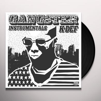 K-Def (AMERICAN) GANGSTER INSTRUMENTALS Vinyl Record