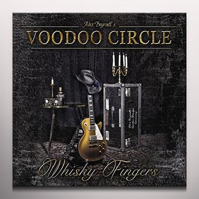 Voodoo Circle WHISKY FINGERS Vinyl Record - Gold Vinyl, Limited Edition