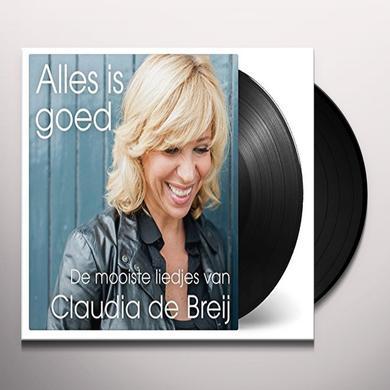 Claudia de Breij ALLES IS GOED (DE MOOISTE LIEDJES VAN) Vinyl Record - Holland Import