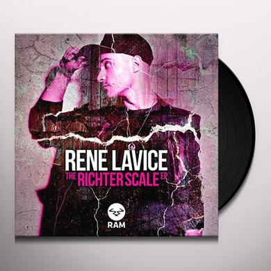 Rene Lavice RICHTER SCALE (EP) Vinyl Record - UK Import