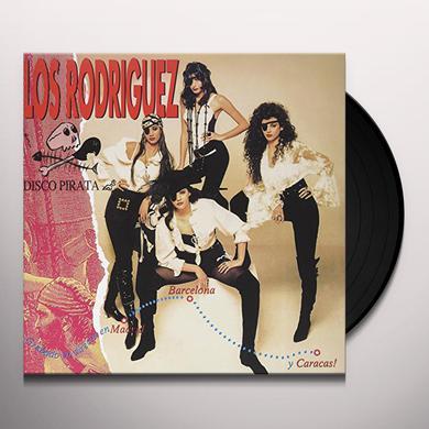 Los Rodriguez DISCO PIRATA Vinyl Record