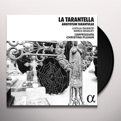 Christina Pluhar / Lucilla Galeazzi / Marc Beasley LA TARANTELLA: ANTIDOTUM TARANTULAE Vinyl Record