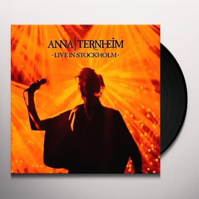 Anna Ternheim LIVE IN STOCKHOLM Vinyl Record - Holland Import
