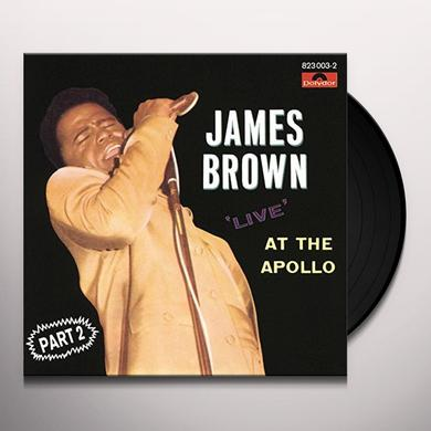 James Brown LIVE AT THE APOLLO VOL II: DELUXE EDITION Vinyl Record