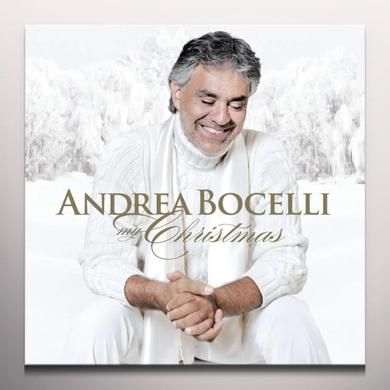 Andrea Bocelli MY CHRISTMAS SUPER DELUXE EDITION Vinyl Record - Colored Vinyl, White Vinyl