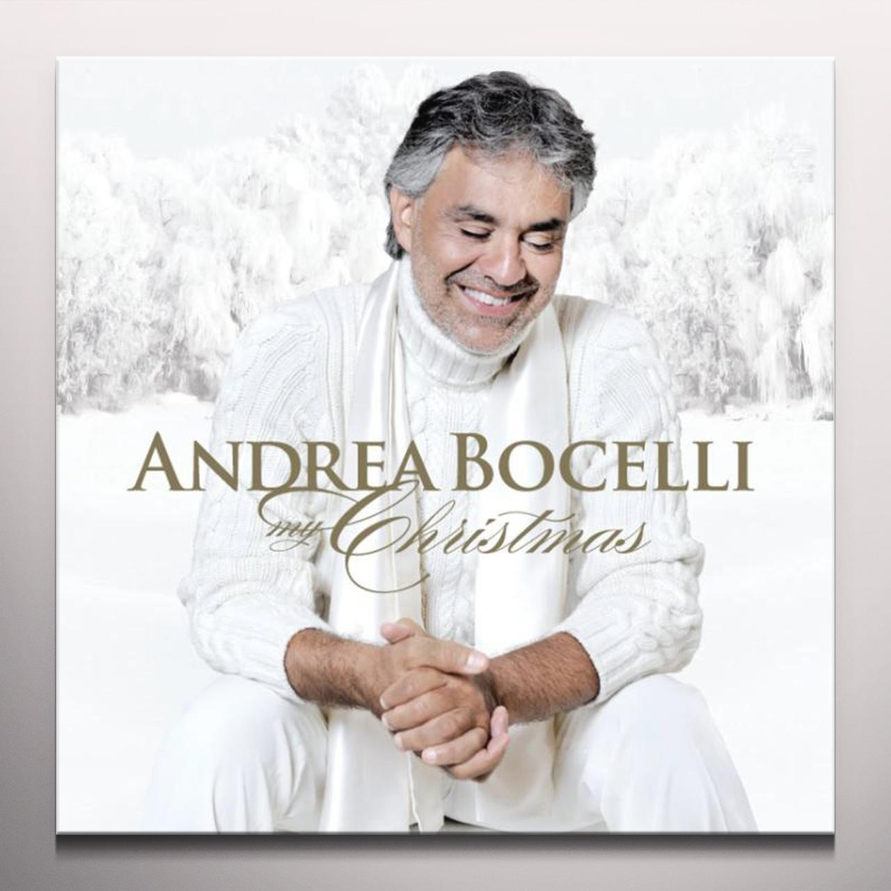 Andrea Bocelli MY CHRISTMAS SUPER DELUXE EDITION Vinyl Record