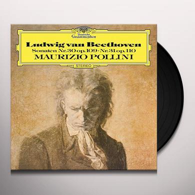 Beethoven / Pollini SONATEN NR 30 OP 109 NR 31 OP 110 Vinyl Record