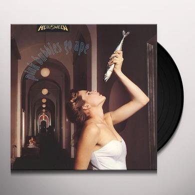 Helloween PINK BUBBLES GO APE Vinyl Record