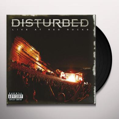 DISTURBED - LIVE AT RED ROCKS Vinyl Record