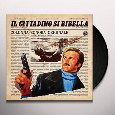Guido De Angelis & Maurizio IL CITTADINO SI RIBELLA / O.S.T. Vinyl Record
