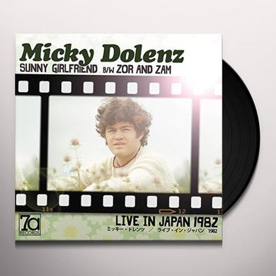 Micky Dolenz SUNNY GIRLFRIEND Vinyl Record - UK Import