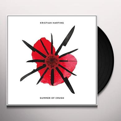Kristian Harting SUMMER OF CRUSH Vinyl Record - Canada Release