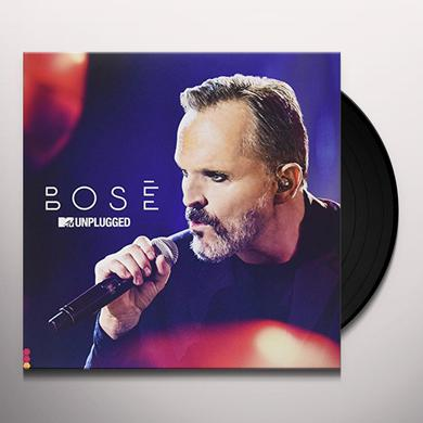 Miguel Bose MTV UNPLUGGED Vinyl Record