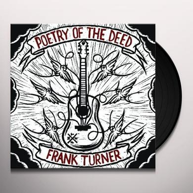 Frank Turner POETRY OF THE DEED Vinyl Record - UK Release