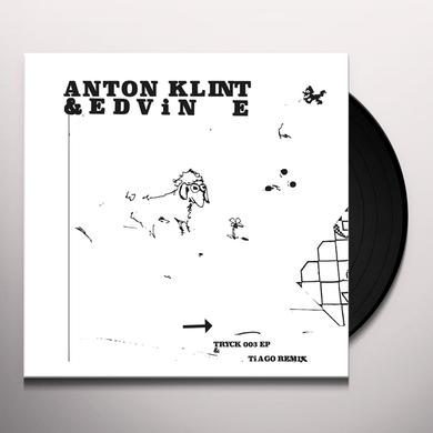 Anton Klint / Edvin E TRYCK003 & TIAGO REMIX Vinyl Record