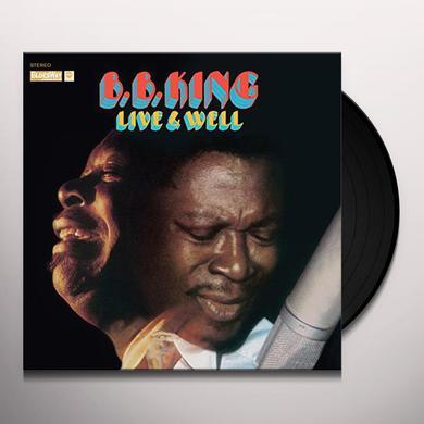 B.B. King LIVE & WELL Vinyl Record